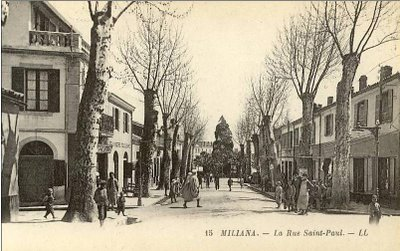 MILIANA - La rue Saint Paul