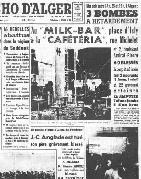 Highlight for Album: Attentat au MILK-BAR