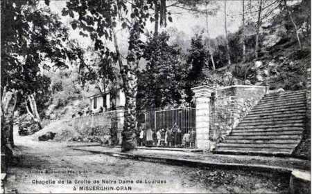 MISSERGHIN La Chapelle de la grotte de LOURDES