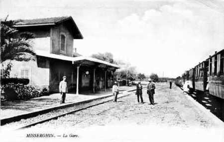 MISSERGHIN - La Gare