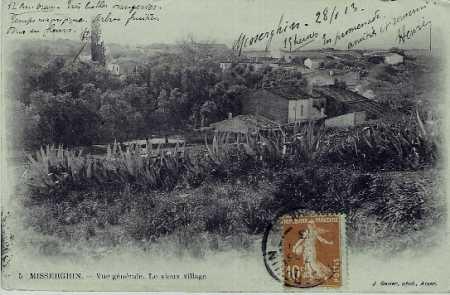MISSERGHIN - Le Village en 1900