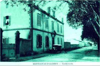 MONTAGNAC - La Gendarmerie
