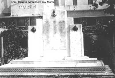 BOU-HAROUN Le Monument aux Morts