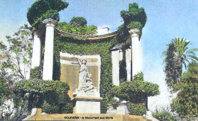 BOUFARIK Le Monument aux Morts