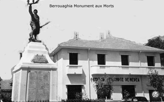 BERROUAGHIA Le Monument aux Morts