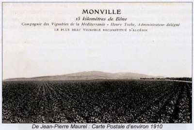 MONVILLE - Carte Postale de 1910