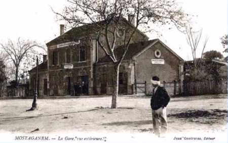 MOSTAGANEM - La Gare