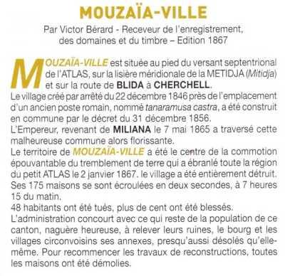 L'Histoire de MOUZAIAVILLE