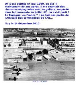 1958 Mon premier NOEL en ORANIE