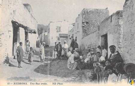 NEDROMA - Une rue du village Arabe