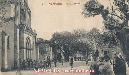 NEMOURS - Rue Gambetta