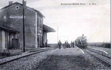 NOISY-LES-BAINS - La Gare