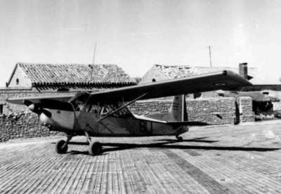 Le Nord 3400 en 1961 sur le terrain d'El Aricha