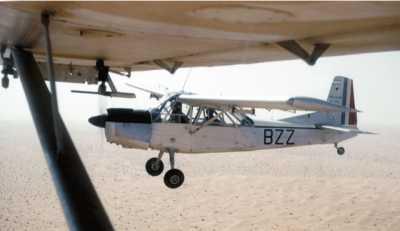 NORD 3400 en vol au-dessus de l'ALGERIE ----    Photos de Pierre JARRIGE