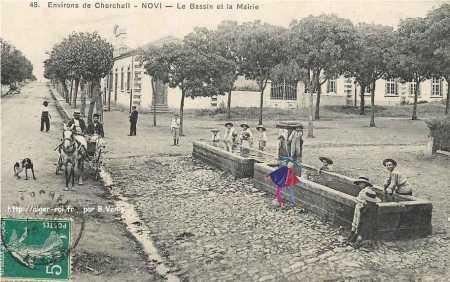 Le Bassin et la Mairie