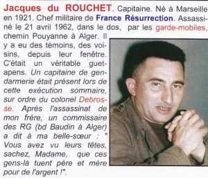 Capitaine  Jacques du ROUCHET