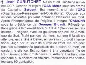 Capitaine  Jean CURUTCHET