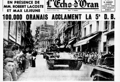 ORAN - 26 avril 1956
