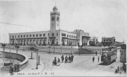 ORAN - La Gare PLM