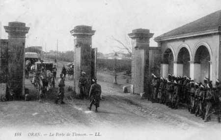 ORAN - Porte de Tlemcen