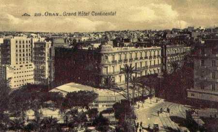ORAN - L'Hotel Continental
