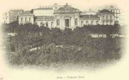 ORAN - Le Tribunal Civil