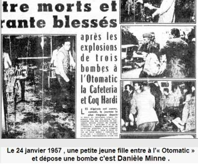 Photo-titre pour cet album: 24 Janvier 1957  L'Attentat au bar de l'OTOMATIC