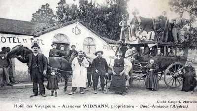 OUED-AMIZOUR - Hotel des Voyageurs - Alphonse WIDMANN