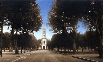 OUED-EL-ALLEUG - La Place de l'Eglise