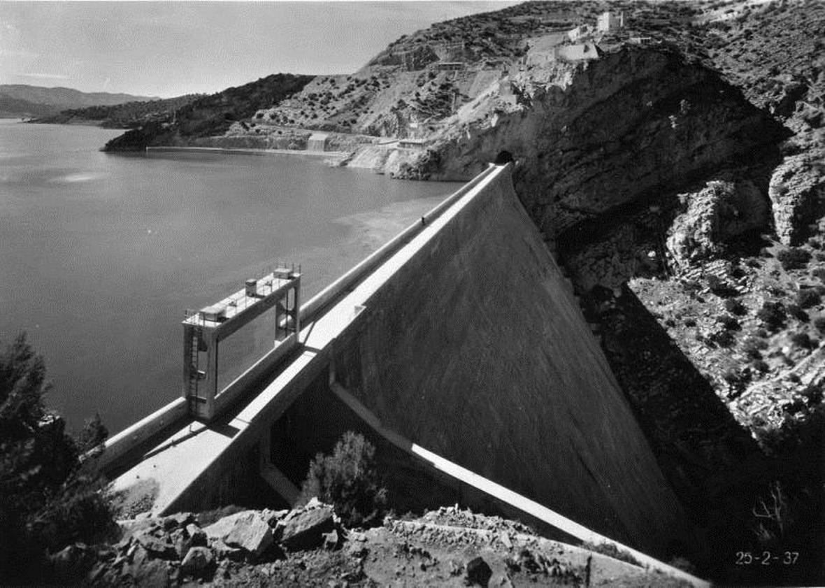 OUED-FODDA - Le Barrage