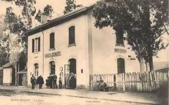 OUED-ZENATI - La Gare