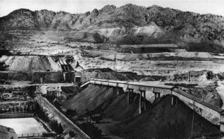 OUENZA - Les Mines de Fer