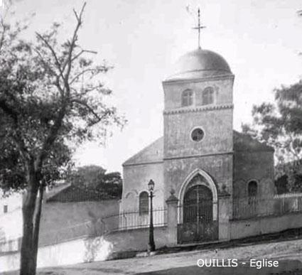 OUILLIS - L'Eglise