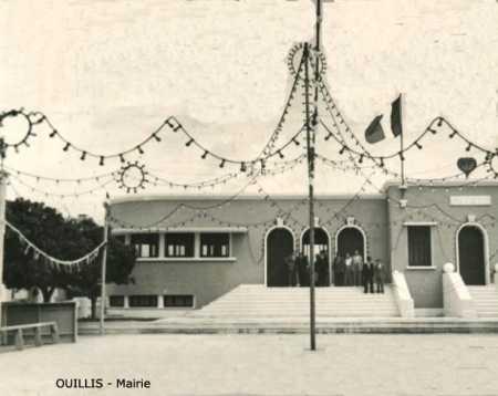 OUILLIS - La Mairie