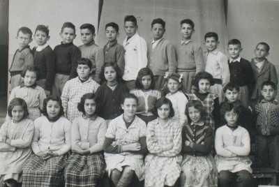 OULED-FAYET - Photo de classe - 1954 1955