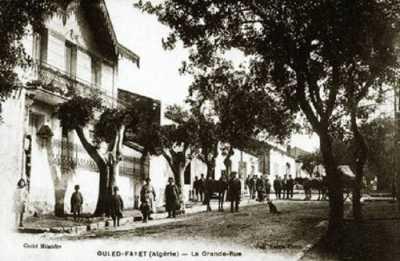 OULED-FAYET en 1890