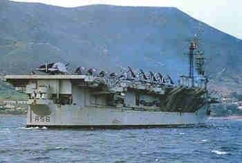 Porte Avions LAFAYETTE ORAN - 1962