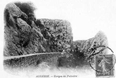 PALESTRO - Les Gorges en 1900