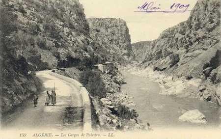 PALESTRO - Les Gorges en 1909