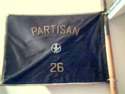 """Revers fanion Cdo """"partisan 26"""""""