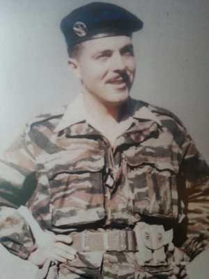 "Soldat du Cdo ""Partisan 43"", Cdo de chasse de la Gendarmerie"