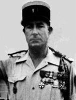 Lieutenant-Colonel COUSSAUD de Massignac 1954-1956