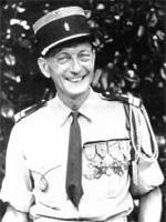 Lieutenant-colonel de BLIGNIERES 1958-1960