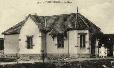 PENTHIEVRE - La Gare