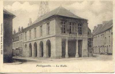 PHILIPPEVILLE - la Halle