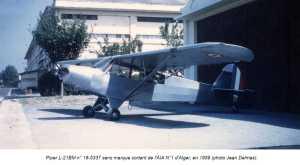 PIPER L-21 Alger en 1959