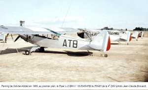 Piper L-21BM SIDI-BEL-ABBES en 1960