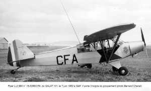 PIPER L-21 BM SETIF le 7 juin 1960