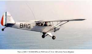 PIPER L-21 BM en 1963