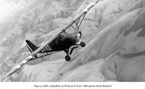PIPER L-21 BM en 1958